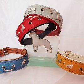 Collar con razas de perros