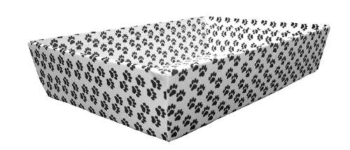 Bandejas Con Huellas de Perro Impresas