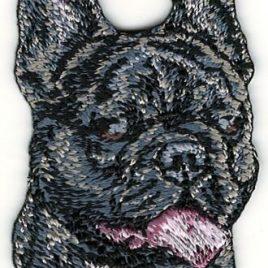 Bulldog Frances- Parche bordado