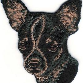 Parche Bordado – Chihuahua