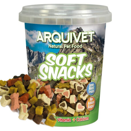 Snacks Huesitos y corazones mix 300 g