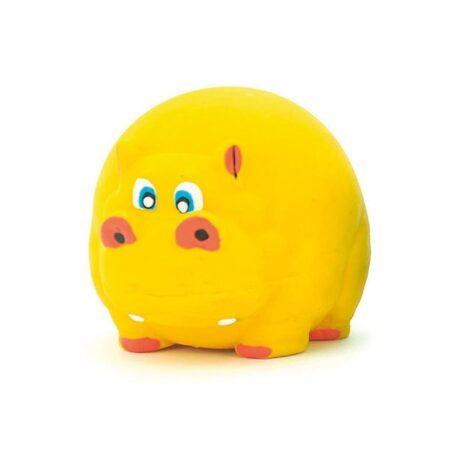 hipopotamo-amarillo-latex-7cm
