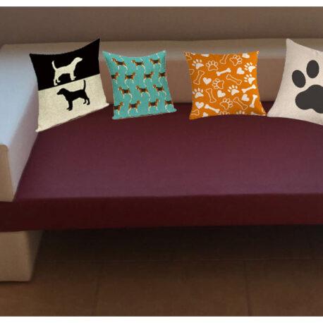 sofa con fundas